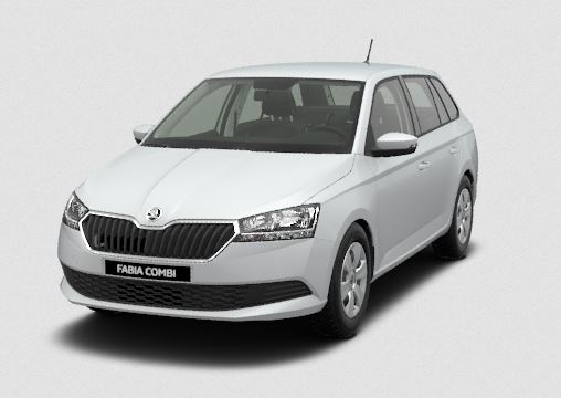 skoda fabia combi new ambition 1.0 tsi 95hp mt5 - cars4europe